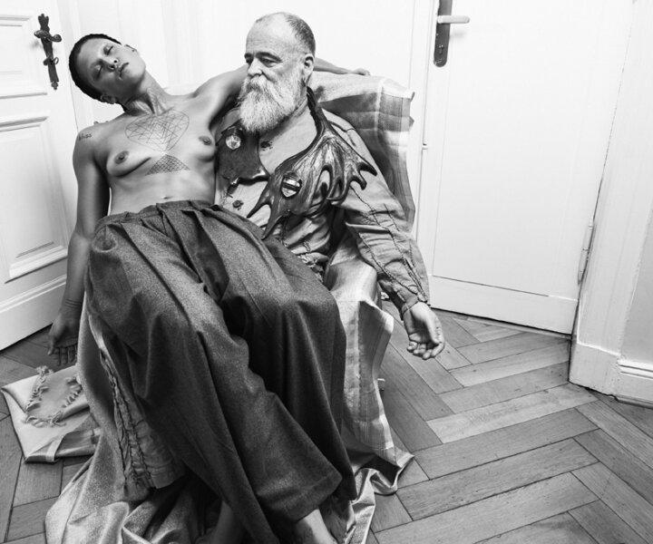 Boychild and AA Bronson // Vogue Germany
